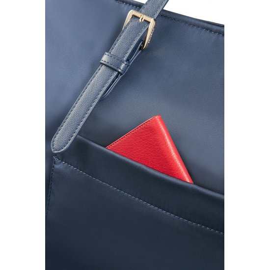 Karissa Shopping Bag M Dark Navy