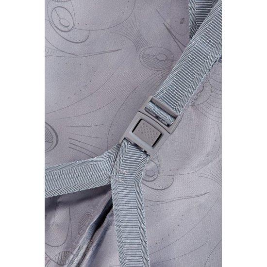 Количка за ръчен багаж на 2 колелца American Tourister Jazz 55 см, цвят морски цветя