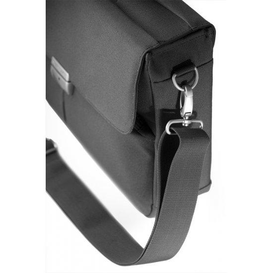 Компютърна бизнес чанта Cordoba Duo с една преграда за 16 инча лаптоп цвят графит