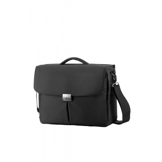Компютърна бизнес чанта Cordoba Duo с три прегради за 16 инча лаптоп цвят графит