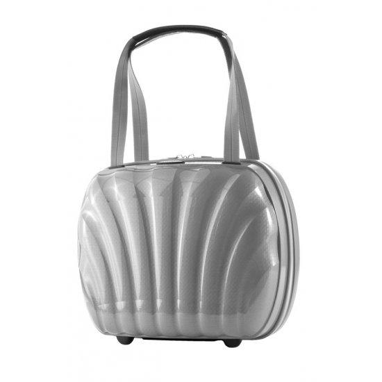 Козметична чанта Cosmolite цвят сребро