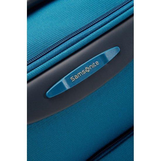 Куфар на 2 колела Base Hits 55 см в небесно син  цвят, размер ръчен багаж