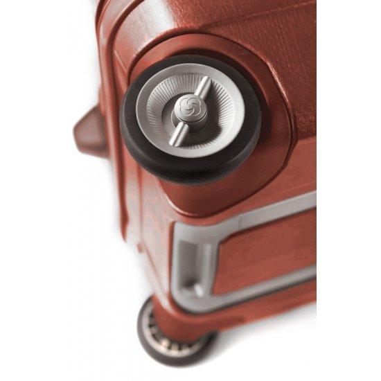 Куфар на 2 колела Cubelite 66 см. тъмно червен цвят
