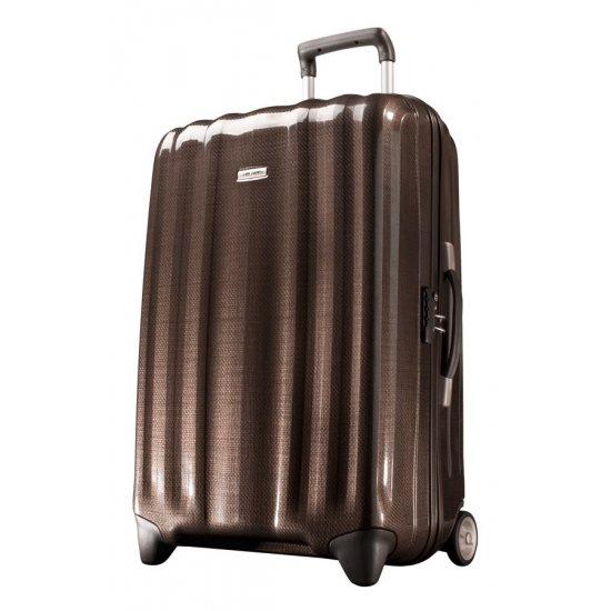 Куфар на 2 колела Cubelite 74 см цвят шоколад