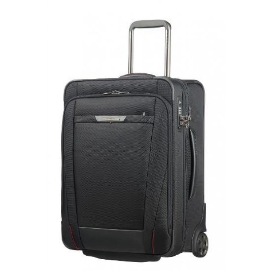 Suitcase on 2 wheels PRO-DLX 5 BLACK expandable