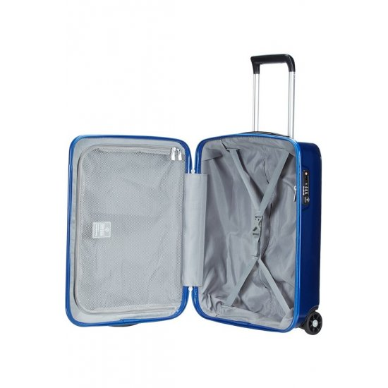 Upright on 2 wheels Spin Trunk 55 cm. Blue