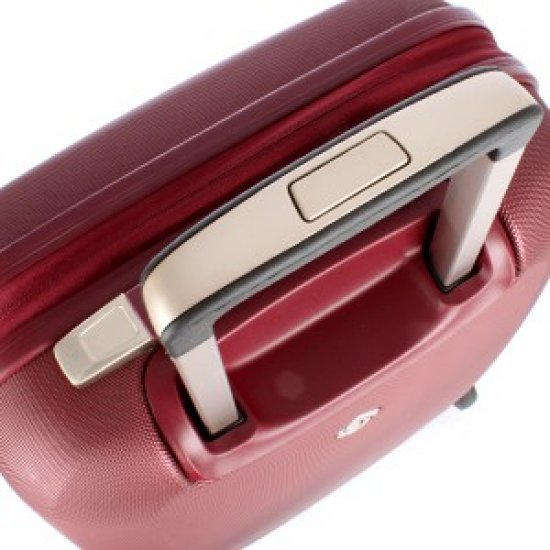 Куфар на 2 колела Starwheeler 55cm тъмно червен цвят