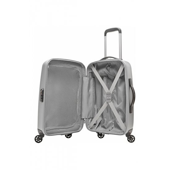 Spinner on 4 wheels Bright Lite 2.0 55cm in gray color