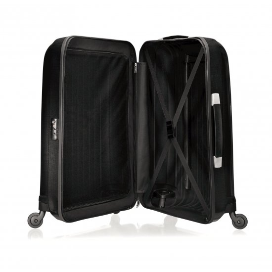 Куфар на 4 колела Chronolite 55 см в сив цвят