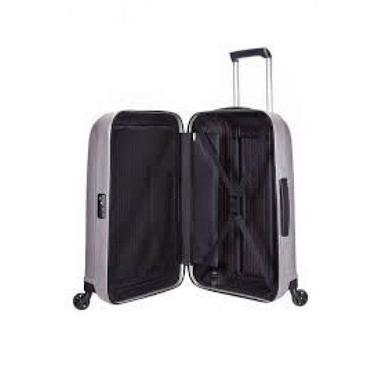 Куфар на 4 колела Chronolite 75 см в сив цвят