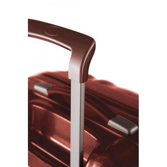 Куфар на 4 колела Cubelite 82 см тъмно червен цвят