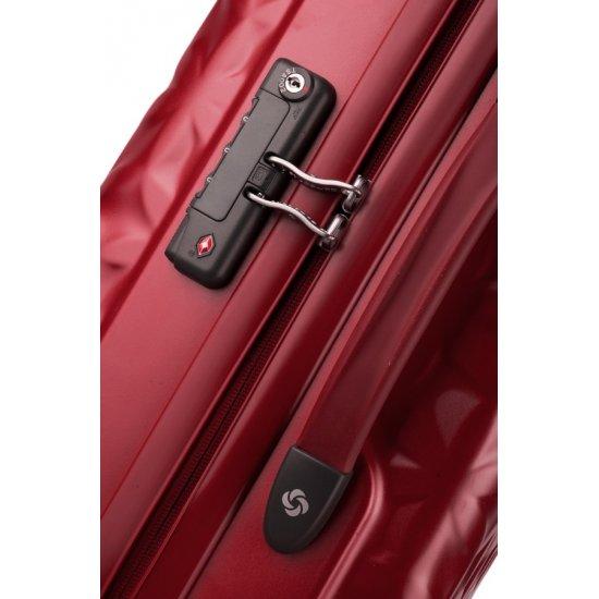 Куфар на 4 колела Essensis 55см. червен цвят