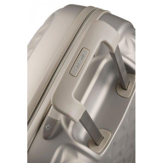 Куфар на 4 колела Essensis 55см. цвят слонова кост
