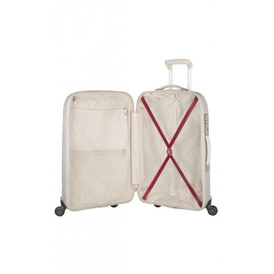 Куфар на 4 колела Essensis 69см. цвят слонова кост
