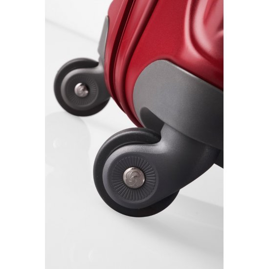 Куфар на 4 колела Essensis 75см. червен цвят