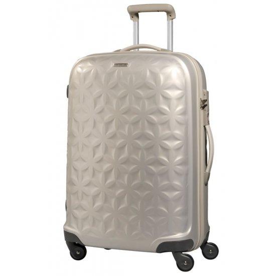 Куфар на 4 колела Essensis 75см. цвят слонова кост