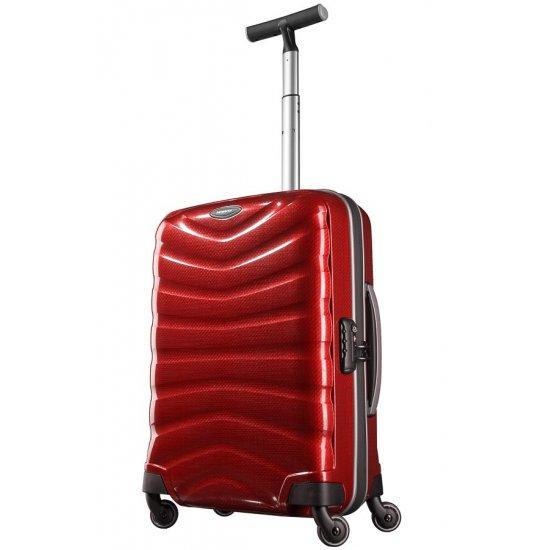 Куфар на 4 колела Firelite 55 см червен цвят