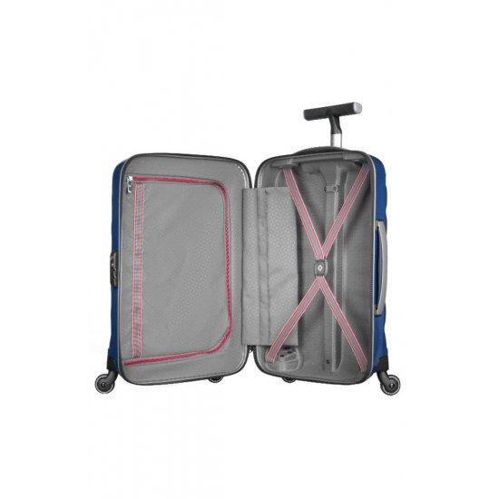 Куфар на 4 колела Firelite 55 см син цвят