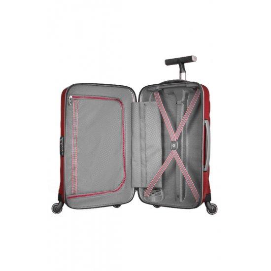 Куфар на 4 колела Firelite 75 см червен цвят