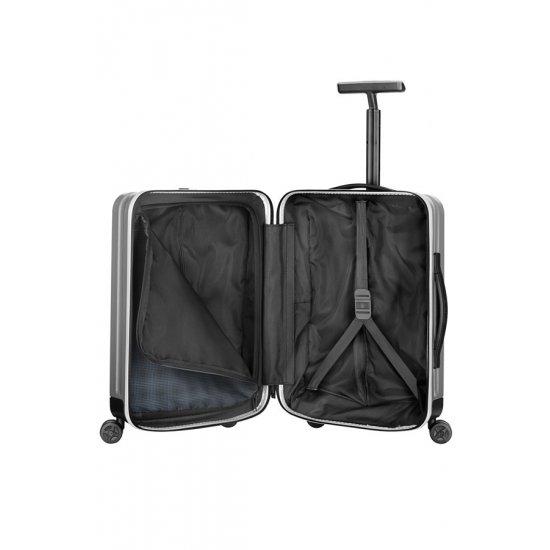 Куфар на 4 колела Inova 55 см цвят сребро