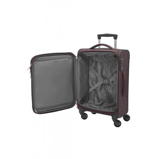 Куфар на 4 колела New Spark 55см. червен цвят