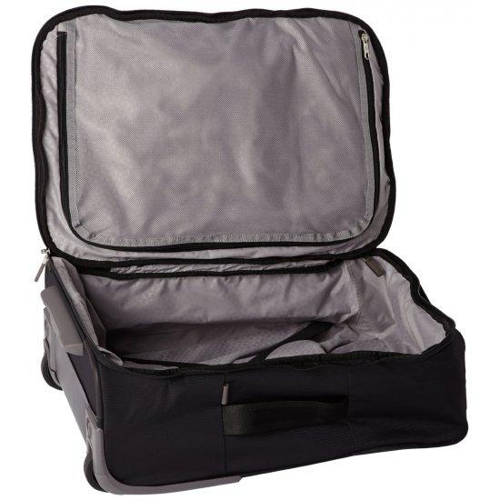Куфар на две колелца Fold@way 55 см черен цвят