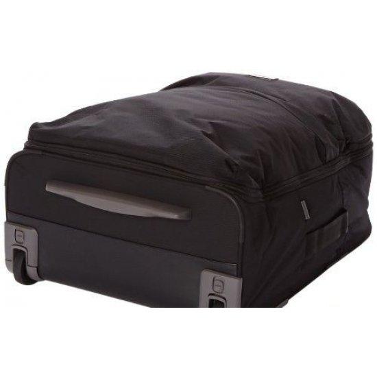 Куфар на две колелца Fold@way 67 см черен цвят