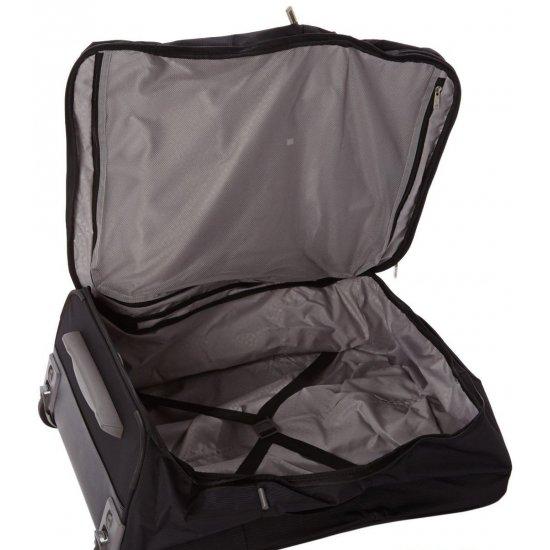 Куфар на две колелца Fold@way 76 см черен цвят