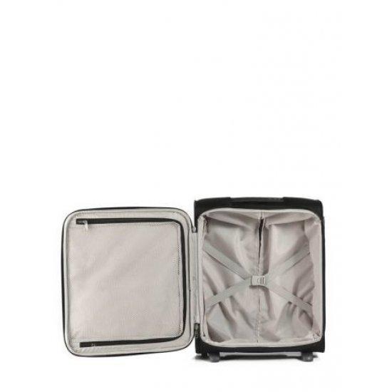 Куфар за ръчен багаж на 2 колела All Direxions 50см в черен цвят