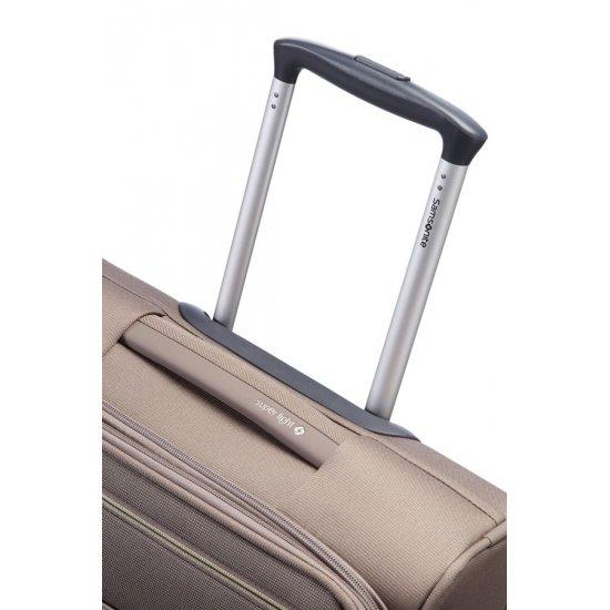 Куфар за ръчен багаж на 2 колела All Direxions 55см с разширение в цвят лешник