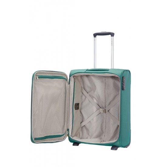 Куфар за ръчен багаж на 2 колела All Direxions 55см с разширение в зелен цвят
