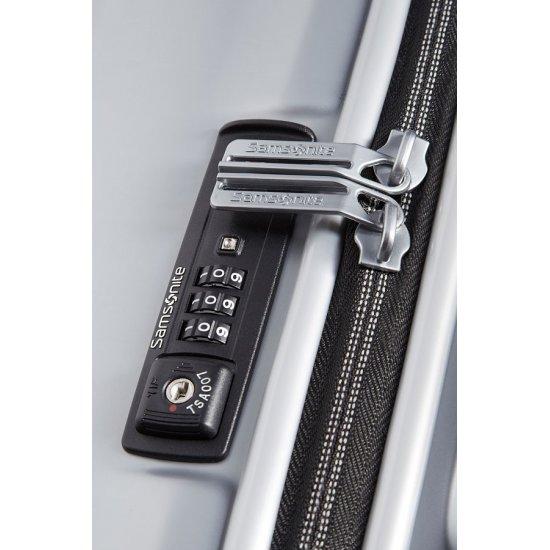 Куфар за ръчен багаж на 2 колела Ultimocabin 50 см, сребрист цвят