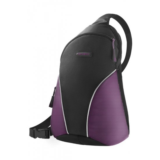 Purple backpack tablet compartment 9.7