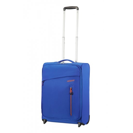 Litewing 2-wheel Upright suitcase 55cm Racing Blue