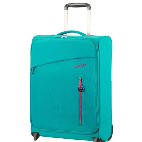 Litewing 2-wheel Upright suitcase 55cm Aqua Turquoise