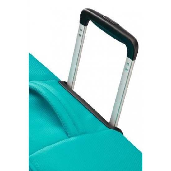 Litewing 4-wheel Spinner suitcase 35cm width Exp. Aqua Turquoise