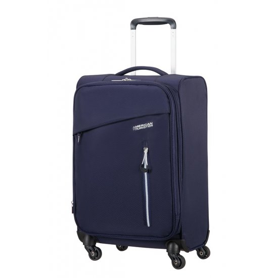 Litewing 4-wheel Spinner suitcase 35cm width Exp. Insignia Blue