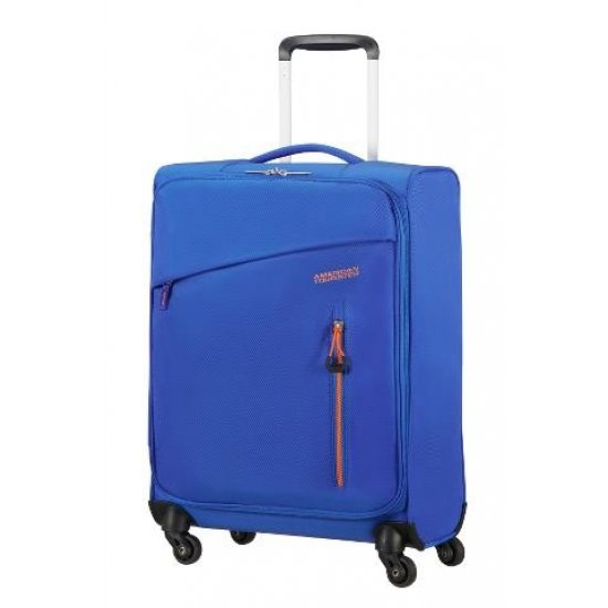 Litewing 4-wheel Spinner suitcase 55cm  Racing Blue