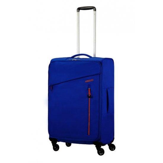 Litewing 4-wheel Spinner suitcase 70cm Racing Blue