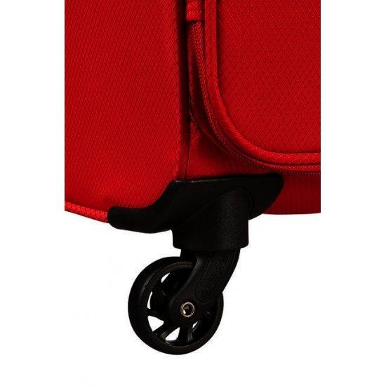 Litewing 4-wheel Spinner suitcase 70cm Formula Red