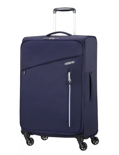 Litewing 4-wheel Spinner suitcase 70cm Insignia Blue - Product Comparison