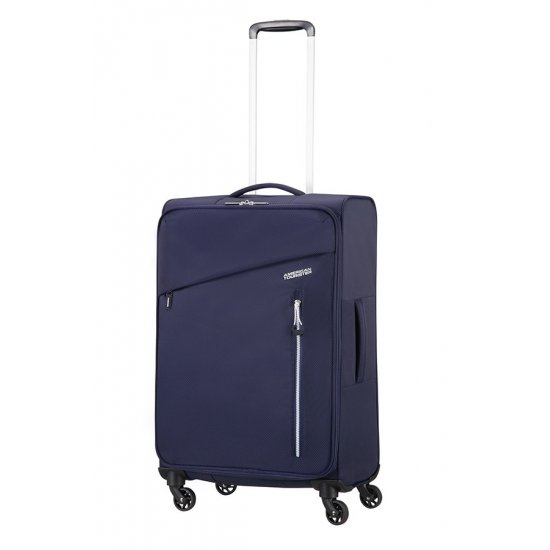 Litewing 4-wheel Spinner suitcase 70cm Insignia Blue