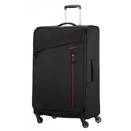 Litewing 4-wheel Spinner suitcase 81cm Volcanic Black