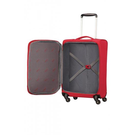Litewing 4-wheel Spinner suitcase 81cm Formula Red