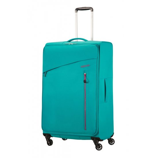 Litewing 4-wheel Spinner suitcase 81cm Aqua Turquoise