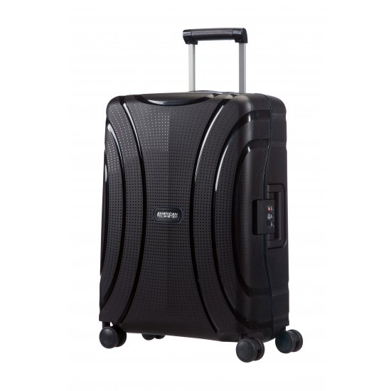 Lock'N'Roll 4-wheel Spinner suitcase 55cm Jet Black