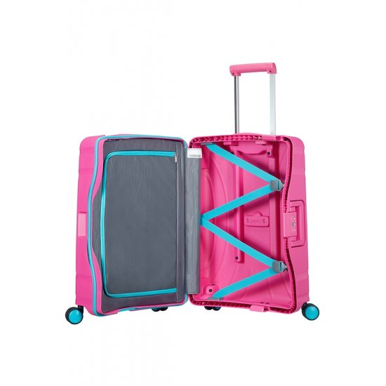Lock'N'Roll 4-wheel Spinner suitcase 55cm Skydiver Summer Pink