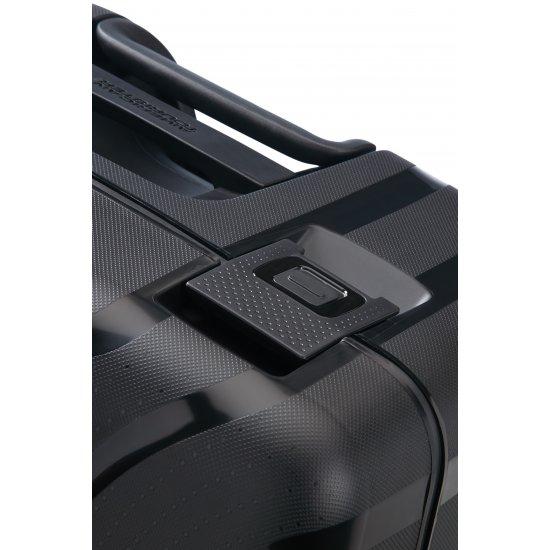 Lock'N'Roll 4-wheel Spinner suitcase 69cm Jet Black