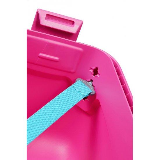 Lock'N'Roll 4-wheel Spinner suitcase 69cm Summer Pink