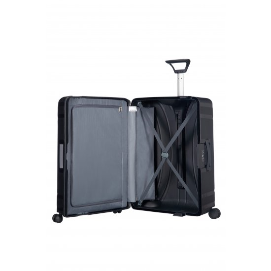 Lock'N'Roll 4-wheel Spinner suitcase 75 cm Jet Black